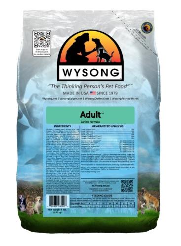 ワイソン アダルト 9.08kg ドッグフード Wysong Oirginal Diets【犬/ドッグード/ナチュラル】