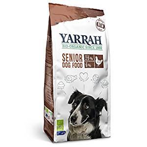 正規品 YARRAH ヤラー オーガニック ドッグフード シニア 2kg 【犬/シニア/高齢犬/アレルギー】