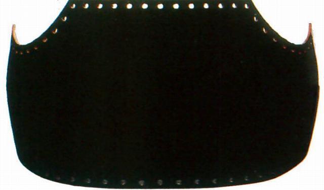 【3,980円以上のお買い上げで送料無料】送料無料 ファイバー胴変り塗(手塗) 黒呂色塗 大