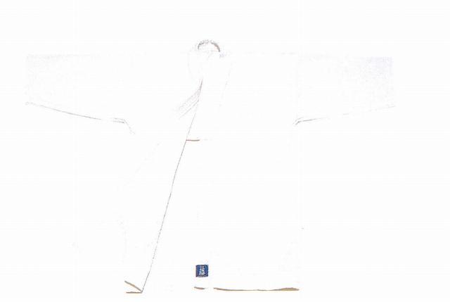 【3,980円以上のお買い上げで送料無料】 剣道衣 晒一重藤(綿100%) 0.5号 送料無料