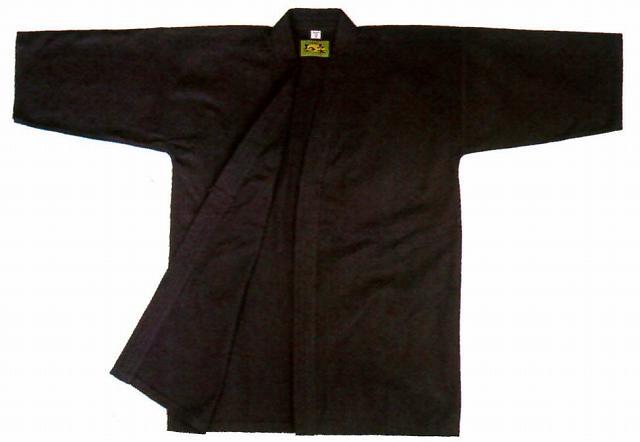 剣道衣 まっくろ剣(綿100%) 4.5号 剣道着/防具/竹刀/小手なら武道園