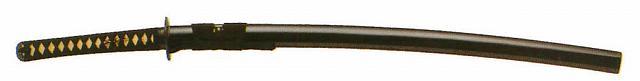ただ今ポイント5倍以上!:送料無料・送料込み 剣道形用(約1080g~小約680~) 二重紫人絹袋付超硬合金古刀仕上厚刃鎬造り 大刀~2.40尺 剣道着/防具/竹刀/小手なら武道園