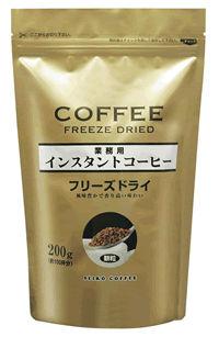 風味豊かで香り高いインスタントコーヒーです ご自宅はもちろん 新品 送料無料 オフィスでインスタントーコーヒーをよく買われる方にも手軽さが定評の商品です インスタントコーヒー 超安い 200g袋入 カフェ工房 フリーズドライ