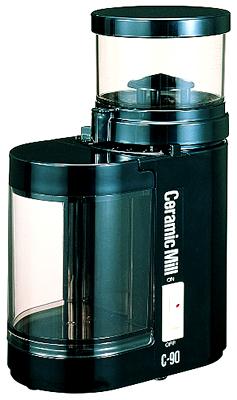 カリタ 電動 セラミックミルC-90(黒)