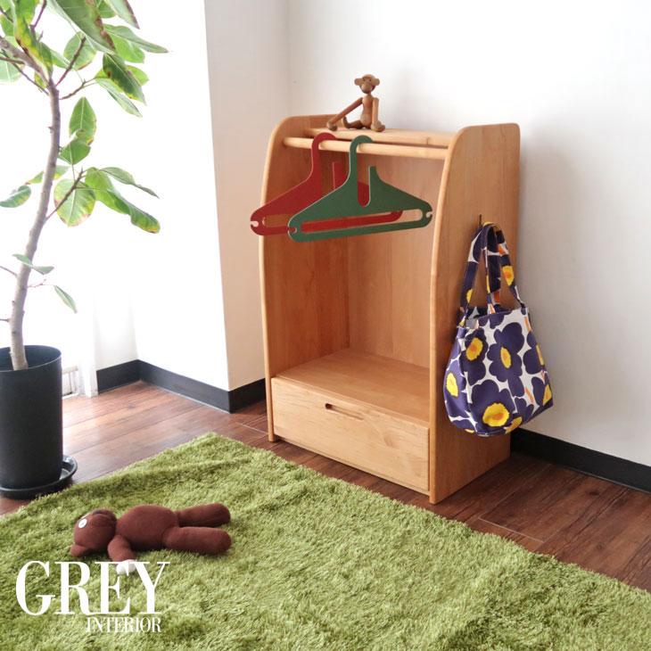 児童用ハンガーラック ハンガー 幼児ハンガーラック 幼児 天然木 完成品 日本製 植物性塗装 健康塗料 無垢 無垢材 子供