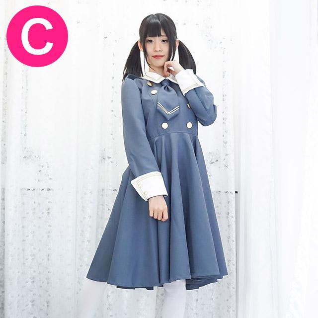 ジャンヌメイド服(グレー)【キャンディフルーツのオリジナルメイド服】【送料無料】