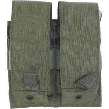 US(米軍放出品)LBT(ロンドンブリッジトレーディングカンパニー)モジュラーダブルM4/M14/MP5 マグポーチ [レンジャーグリーン]