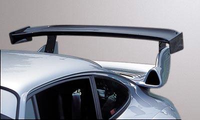 PORSCHE用レース用部品【GruppeM /グループ・エム】 993 GT2 & RSフード用 バナナウィングウィズエクステンションプレート RWBC-993EX