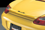 【GruppeM /グループ・エム】 986 BOXSTER ALL 用 リアスポイラー RSF-986B