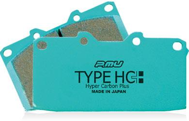 [前後セットでリアが5%OFF!!]  【ラッキーシール対応】【Project μ/プロジェクト・ミュー】 p.muTYPE HC-CS / TYPE HC+ ブレーキパッド フロント 一台分 F906