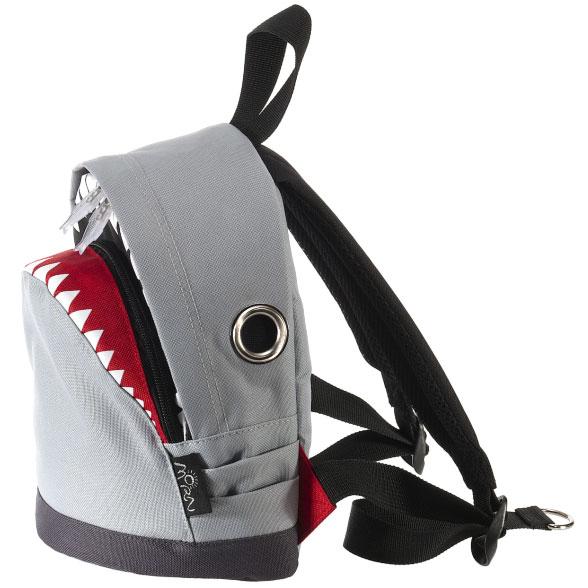 送料無料 MORN 着後レビューで 送料無料 CREATIONSのリュック 新作製品 世界最高品質人気 シャーク バックパック Sサイズがおしゃれ リュック CREATIONS リュックサック ザック Sサイズ S サメ モーンクリエイションズ グレー