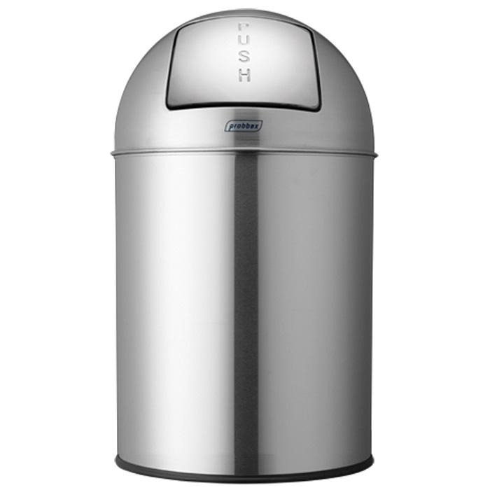 ゴミ箱 プロバックス プッシュビン 業務用 33L ダストボックス ごみ箱 probbax PUSH BIN マットステンレス【代引不可】