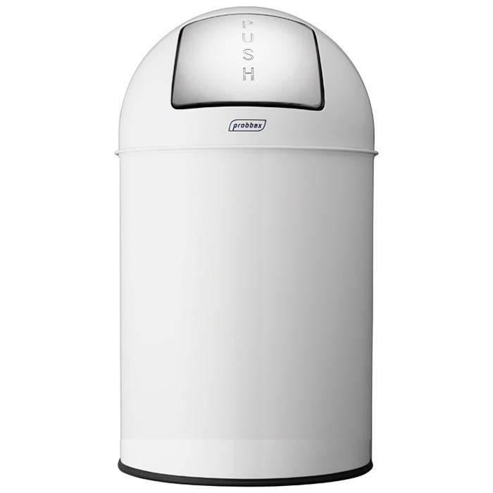 ゴミ箱 プロバックス プッシュビン 業務用 33L ダストボックス ごみ箱 probbax PUSH BIN ホワイト【代引不可】