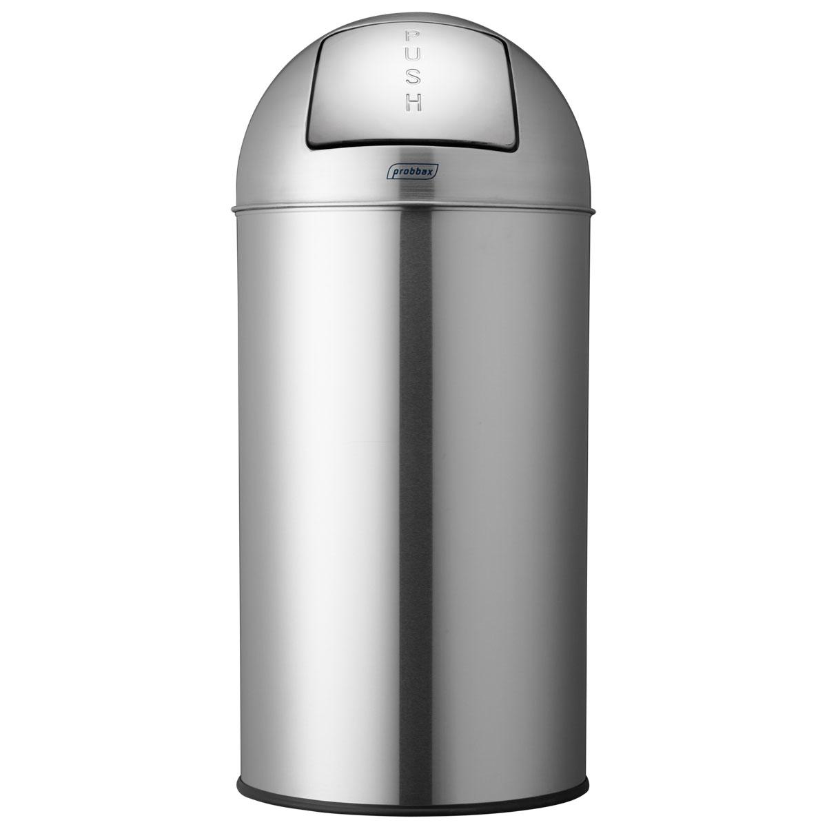 【アウトレット特価】ゴミ箱 プロバックス プッシュビン ダストボックス 業務用 ごみ箱 probbax ゴミ箱 PUSH BIN マットステンレス【返品不可】