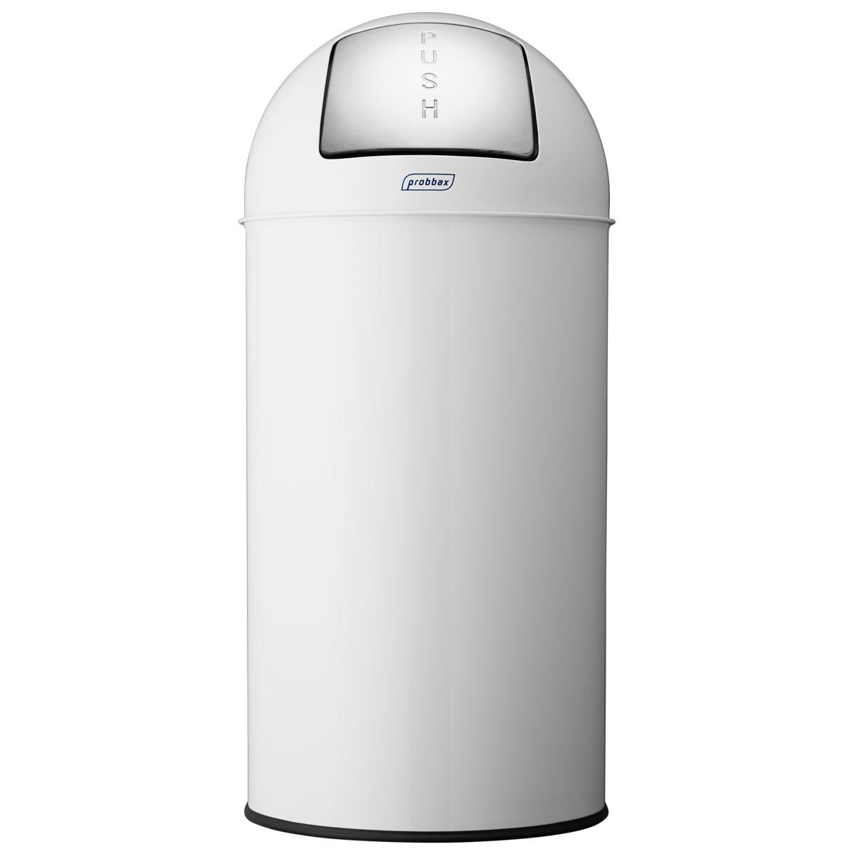 ゴミ箱 プロバックス プッシュビン ダストボックス 業務用 ごみ箱 probbax ゴミ箱 PUSH BIN ホワイト