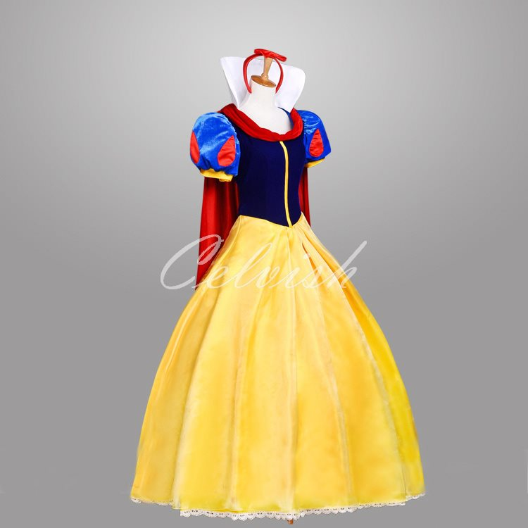 スノーホワイト 白雪姫 ドレス プリンセスドレス コスプレ衣装 パーティー cl-2724D004