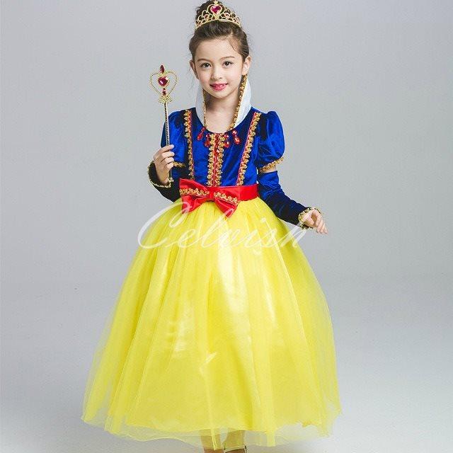 d751071698d7a 楽天市場 コスプレ ドレス スノーホワイト 風 子供 ドレス プリンセス ...