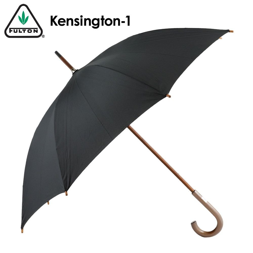 あす楽 送料無料 限定タイムセール ラッピング無料 フルトン 傘 ケンジントン FULTON Kensington メンズ アンブレラ 長傘 Kensington-1 英国王室御用達ブランド ケンジントン1 おしゃれな木製ハンドル 爆買い新作 雨傘 レディース