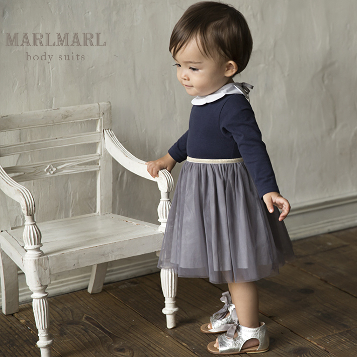 17dfff8d4fa7f マールマール MARLMARL ラッピング無料  quot body suits ボディスーツ quot  for girls 出産
