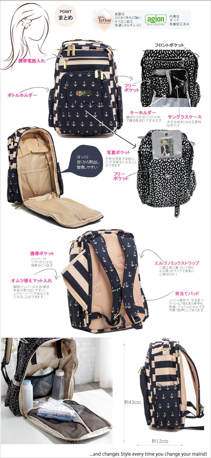 Bag Backpack Mamluk Jujube Ju Be Right Back Belite Onyx