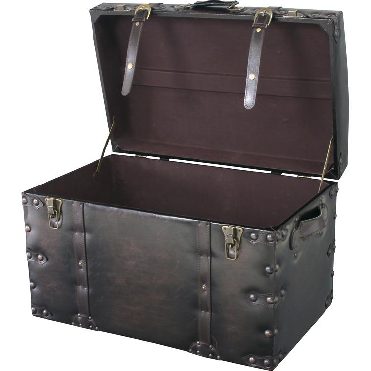 トランクセット Karl カール 収納箱・小型ケース 西海岸 インテリア 雑貨 西海岸風 家具 【532P16Jul16】