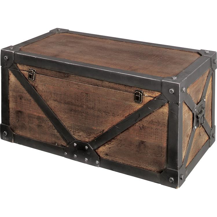 トランクM Karl カール 収納箱・小型ケース 西海岸 インテリア 雑貨 西海岸風 家具 【532P16Jul16】