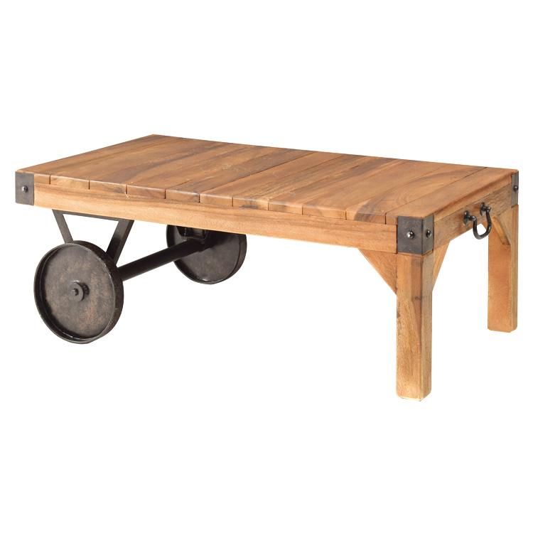 トロリー テーブル S Cajsa カイサ ローテーブル 木製 西海岸 インテリア 雑貨 西海岸風 家具 【532P16Jul16】