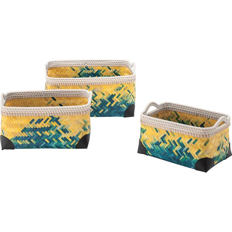 バスケット3個セット  Turpeinen トゥルペイネン 西海岸 送料無料 西海岸風 インテリア 家具 雑貨 【532P16Jul16】