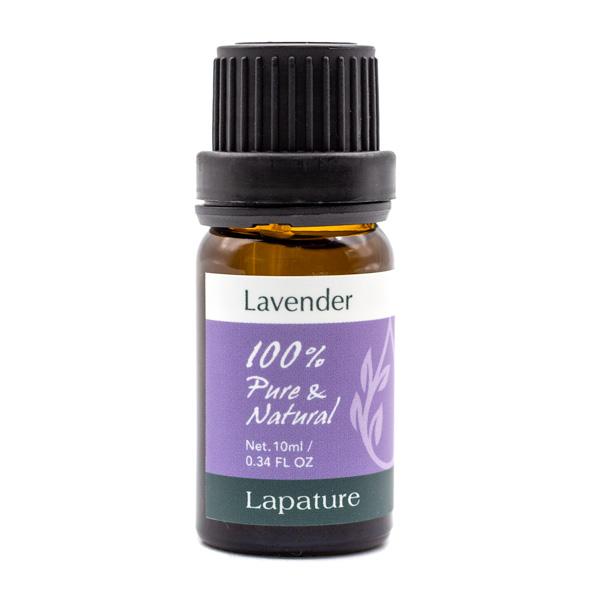 アロマオイル エッセンシャルオイル 精油 ラベンダー 10ml Lapature PURE 評価 真正ラベンダー 100% NATURAL 海外並行輸入正規品 Lavender お中元