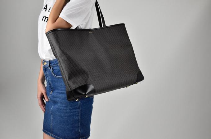 fcd15909efb ... Sanrolampari SAINT LAURENT classic toile Monogram ladies / mens /BAG /  bag / tote bag ...