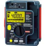 『カード対応OK!』■〒SANWA/三和電気計器 デジタル絶縁抵抗計 500V/250V/125V【MG500】(3334058) 受注単位1