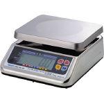 『カード対応OK!』■〒ヤマト/大和製衡 完全防水形デジタル上皿自動はかり UDS-1VN-WP-6 6kg【UDS-1VN-WP-6】(3084752) 受注単位1