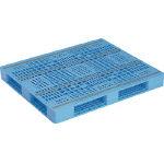 『カード対応OK!』■〒三甲/サンコー プラスチックパレット R4ー1012ー2【SK-R4-1012-2-BL】() 受注単位1