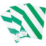 『カード対応OK!』■〒エル日昌/エル日昌 シマベニヤ10枚入 緑/白 900mmX2m【RW-36】(3319563) 受注単位1