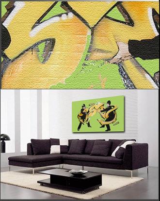 ABBEY CLOZEST | Rakuten Global Market: Banksy wall art art panel ...