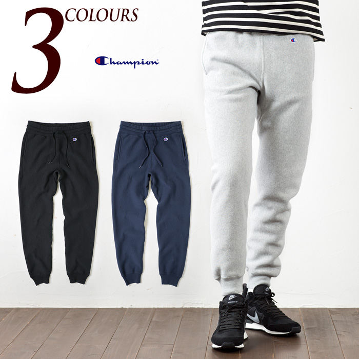 ae6796102af1 [Champion pants] weave sweatpants CHAMPION REVERSE WEAVE SWEATPANT C3-E205  blue tags hem ...