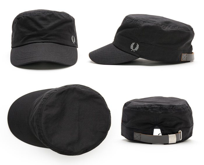 FRED PERRY RIPSTOP TRAIN DRIVER CAP work [Fred Perry hats] RIP-stop train driver cap and Cap de Gaulle HW7622