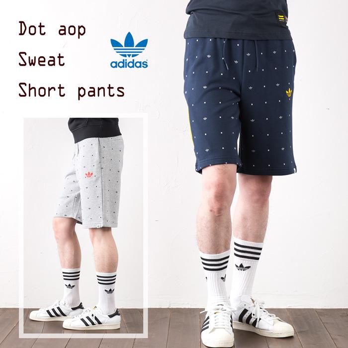 [阿迪达斯原始物]AOP运动衫短裤adidas Originals AOP SWEAT SHORT运动长裤