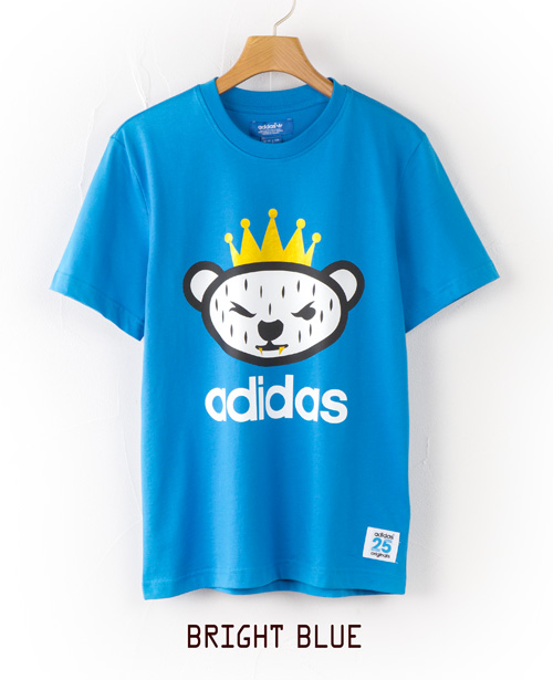 NIGO 곰 로고 T-셔츠 adidas originals NIGO BEAR LOGO Tee Shirt JKS56