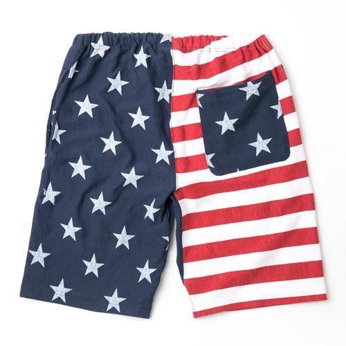 [전사 반바지] 리 미국 국기 쇼 츠 [370. 네이 비] Champion Reverse Weave Short Pant USA 대표 C3-F505