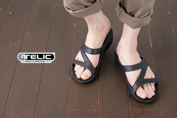 8cd0ed55aa87  Telic Sandals  sets traps TELIC-300 Z-STRAP comfort flip flops men shoes   Begin begin may issue model