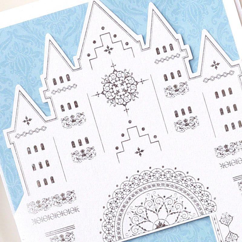 結婚式 招待状 【印刷込み】 シュヴァン (10名用) 招待状 封筒 宛名 印刷付き 無料 台紙 封 シール 用紙