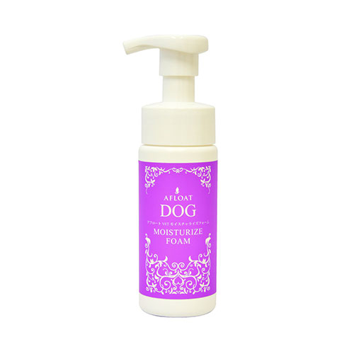 泡タイプの保湿剤です 皮膚にしっかりと馴染み 潤いを閉じ込めます afloot アフロート DOG 期間限定で特別価格 高級な モイスチャライズフォーム 150g VET