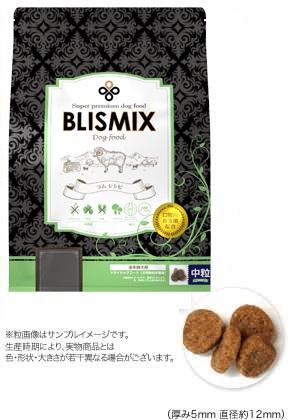【BLISMIX(ブリスミックス)】ドッグフード ラム中粒【1kg】