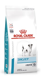 【お急ぎ不可】ロイヤルカナン食事療法食 犬用ドライ スキンケア 小型犬用 【1kg】