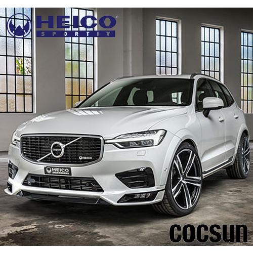 ボルボ XC60 D4 T5 AWD Rデザイン ボディーキット フロントスポイラー リアスカート テールパイプフィニッシャー UB/UD型 HEICO ハイコ