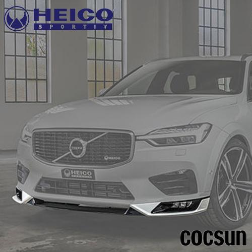 ボルボ XC60 D4 T5 T6 AWD Rデザイン フロントスポイラー UB/UD型 HEICO ハイコ