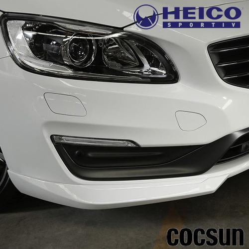 ボルボ S60 T3 T4 T5 T6 D4 SE AWD タック クラシック フロントスポイラー FB/FD型 2014年モデルから HEICO ハイコ