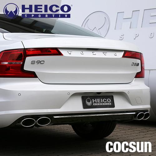 ボルボ S90 T5 T6 AWD モメンタム Rデザイン インスクリプション スポーツエキゾースト 4テールパイプ PB型 HEICO ハイコ