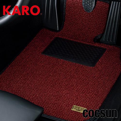 ボルボ VOLVO カスタムパーツ 倉庫 フロアマット 公式ストア 850 8B型 右ハンドル車用 セダン エステート 共通 2ライン KARO カロ 4ピース 621 クローネ 1台分
